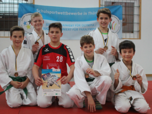 Judo; Landesfinale; WK III; Jungen @ Sportgymnasium Jena