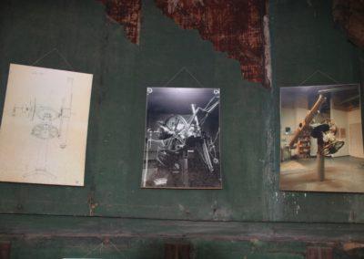 18 Bilder im Kuppelraum