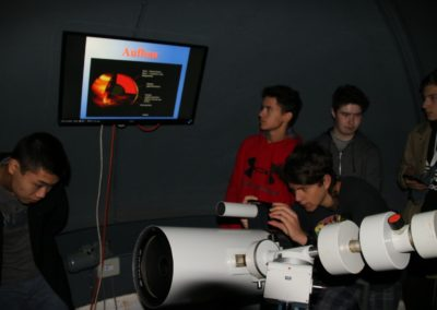 25 Beobachtungen mit dem Teleskop