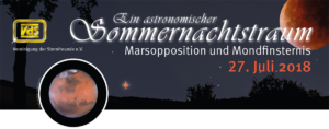Beobachtung Mondfinsternis und Mars in Erdnähe @ Schulsternwarte