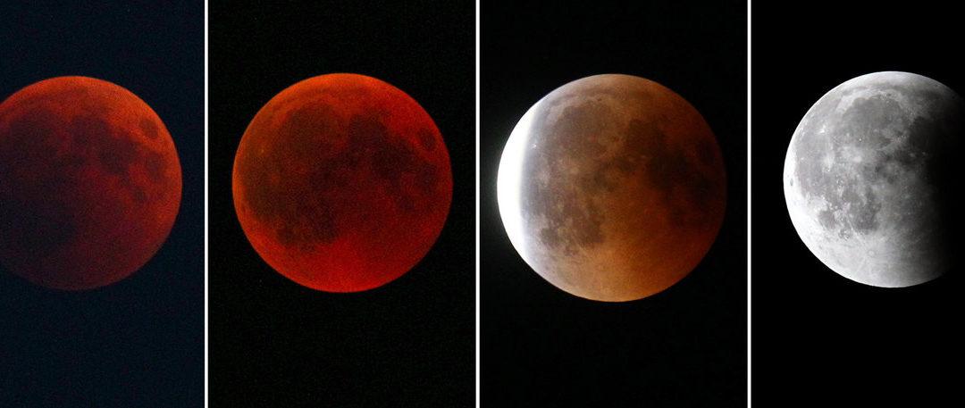 Großer Andrang zur Mondfinsternis