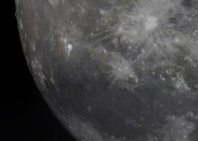 Mondausschnitt mit Strahlenkrater Kopernikus