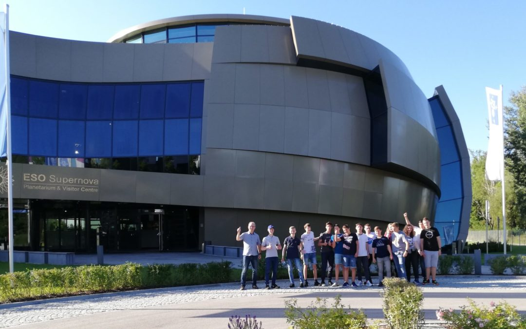 Exkursion der Astronomie-AG nach Garching