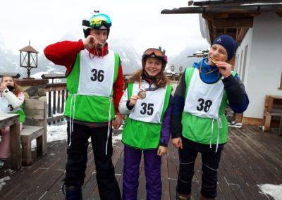 Skilager; 19; Sieger; Slalomrennen; F