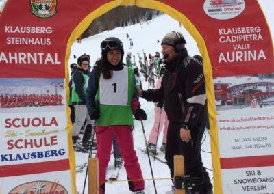 Skilager; 19; Slalomrennen; Start; 2
