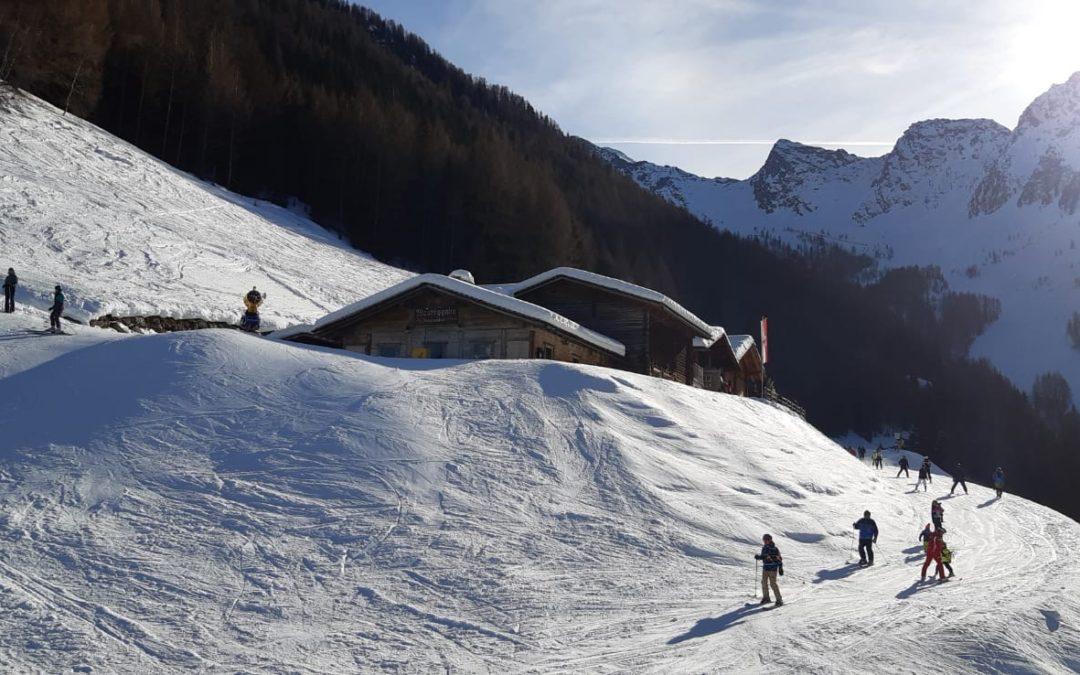 Impressionen aus dem Skilager 2020; Südtirol; Ahrntal